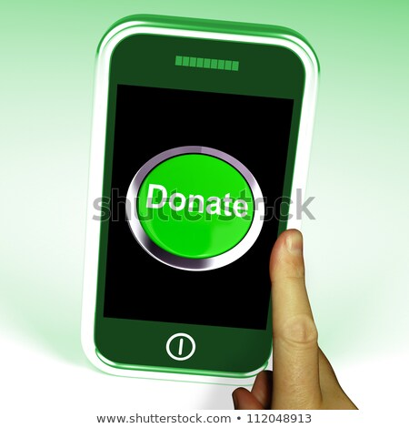 Give - Charity Button Stock photo © iqoncept