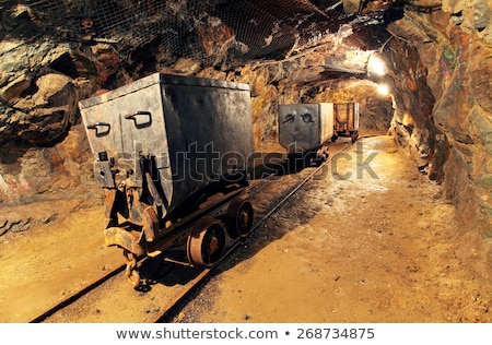 Old gold and silber mine stock photo © Bertl123