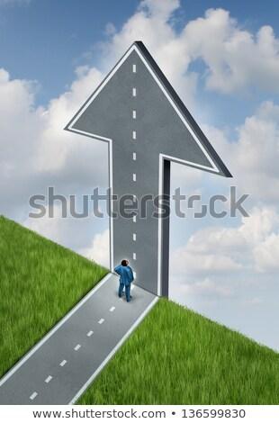 Adapt to Confront Change Stock photo © 3mc