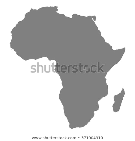 Africa map with Nigeria Stock photo © Ustofre9