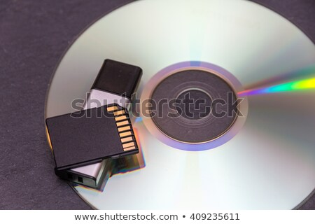 Cd, USB, SD card Stock photo © REDPIXEL
