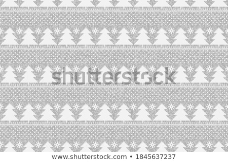 8 Vector Seamless Winter Patterns with  Snowflakes  Stock photo © alexmakarova