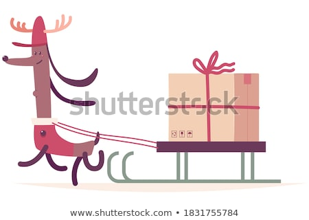 christmas pet sign stock photo © lightsource