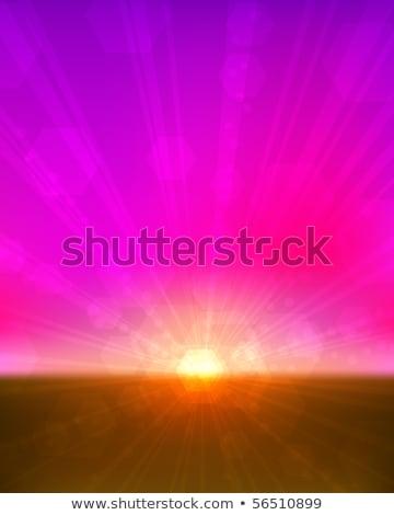 zielone · migotać · promienie · efekt · przezroczystość · streszczenie - zdjęcia stock © tuulijumala