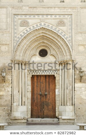 mosque door in cairo old town egypt Stock photo © travelphotography