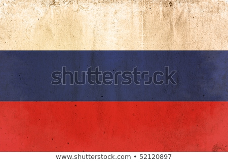 Russian flag on Crumpled paper texture Stock photo © stevanovicigor