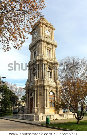 dolmabahce palace at winter - istanbul Stock photo © Mikko