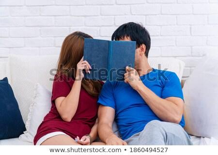how to kiss a boy book concept stock photo © maxmitzu