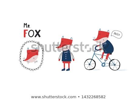 Mr Fox  stock photo © Twinkieartcat