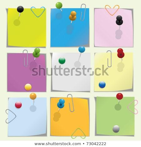 papier · permanent · blanche · école · couleur · outil - photo stock © mycola