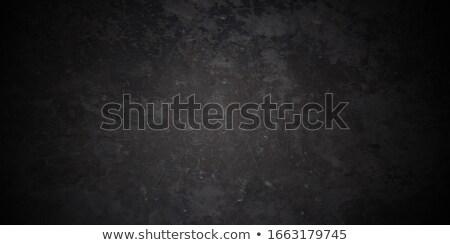 Grunge pęknięty ściany farby ramki czerwony Zdjęcia stock © tungphoto