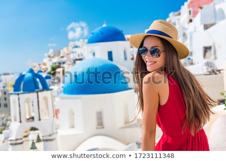 Beauty girl on white Stock photo © DNF-Style