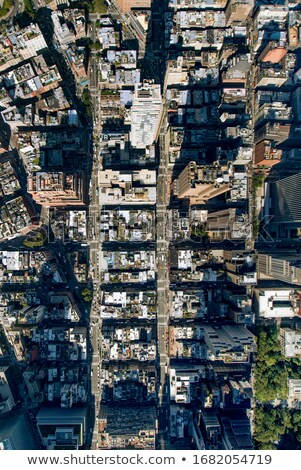 broadway · köy · sokak · güzel · bağbozumu · kulübe - stok fotoğraf © hofmeester