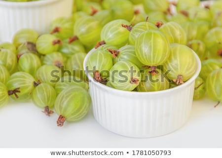 Stok fotoğraf: Meyve · bahçe · arka · plan · yaz · tablo · yeşil