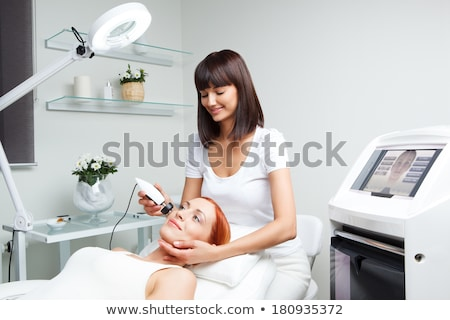 Lifting procedure in the beauty treatment salon Stock photo © d13