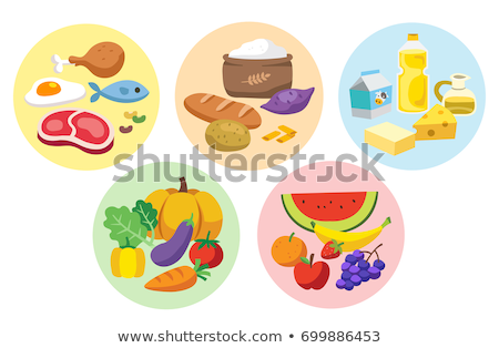 Stock photo: Food Groups