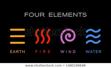 nature elements for design vector logo template set icon set stock photo © ussr