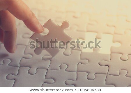 Indexing - Puzzle on the Place of Missing Pieces. Stock photo © tashatuvango