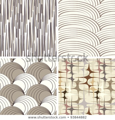 set of four 4 vintage backgrounds with elegant retro abstract stock photo © morphart