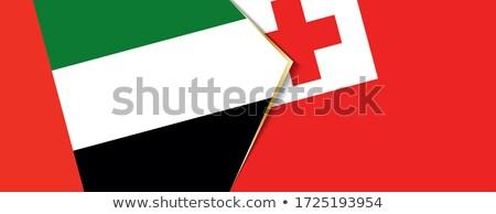 United Arab Emirates and Tonga Flags  Stock photo © Istanbul2009
