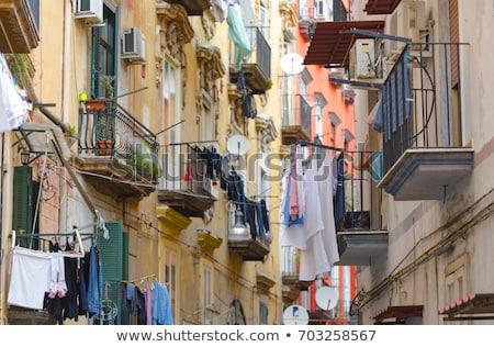 Narrow streets of Naples  Stock photo © benkrut