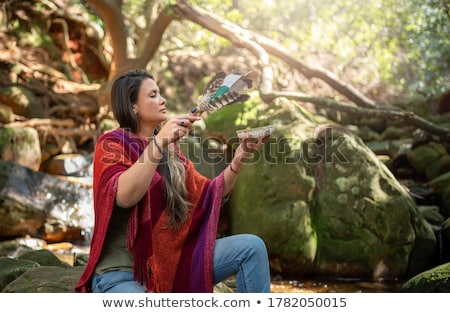 alternatief · therapie · geneeskunde · chinese · gezondheid · symbool - stockfoto © Amaviael