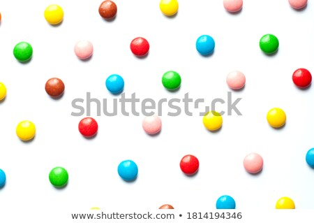 Stock photo: Background Texture Of Colorful Sugar Candy Pearls