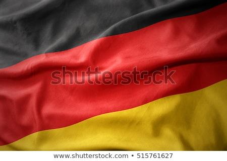 illustratie · vlag · witte · achtergrond · golf · object - stockfoto © creisinger