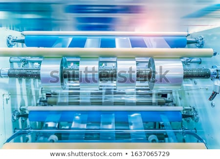 adhesive tape roller Stock photo © prill