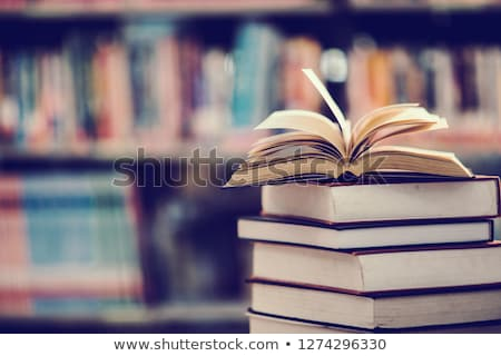 opened textbook Stock photo © alrisha