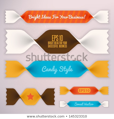 candies and ribbons stock photo © dayzeren