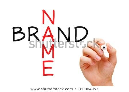 fakty · krzyżówka · znacznik · napisany · biały · papieru - zdjęcia stock © ivelin