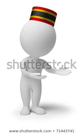 Stock photo: 3d small people - bellboy