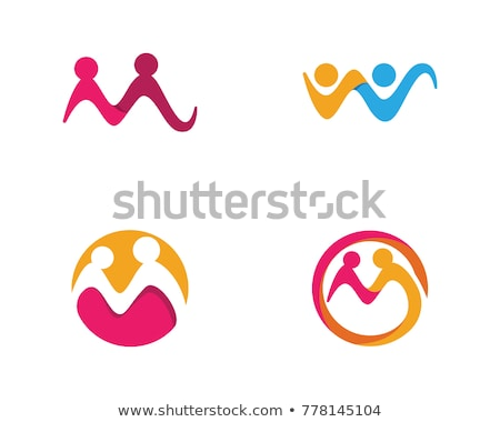 adoptie · gemeenschap · zorg · logo · sjabloon · vector - stockfoto © ggs