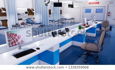 Empty nurse files Stock photo © bluering