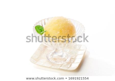 Кубок орехи еды приготовления десерта Сток-фото © val_th