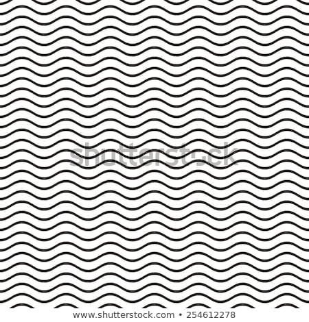 abstract white waves and lines pattern stock photo © saicle
