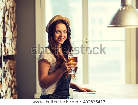 single woman in a bar Stock photo © ssuaphoto