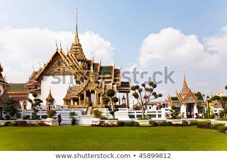 Palais ciel maison bleu architecture Asie Photo stock © meinzahn