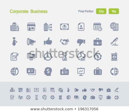 Skyscrapers - Granite Icons stock photo © micromaniac