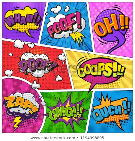 wham comic word Stock photo © studiostoks