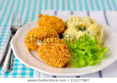 crispy corn flake crusted chicken Stock photo © Digifoodstock