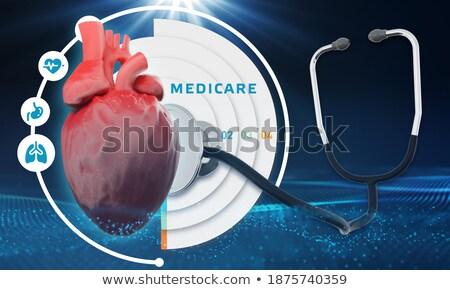 El dokunmak çevrimiçi danışma düğme 3D Stok fotoğraf © tashatuvango