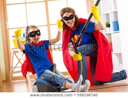 Middle Aged Superhero Stock photo © blamb