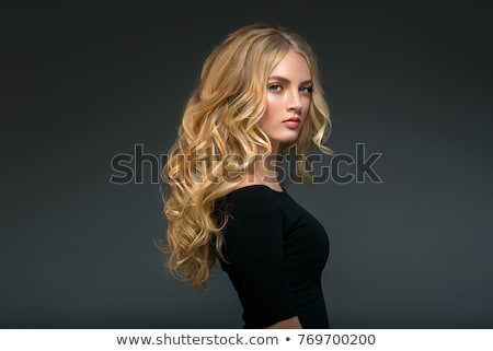 Portrait of a perfect blonde beauty Stock photo © konradbak