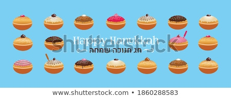colorful hanukkah card Stock photo © get4net