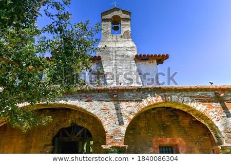 ミッション · 教会 · 南西 · 鐘 · クロス · 建物 - ストックフォト © backyardproductions