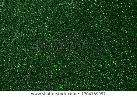 Zöld csillámlás textúra karácsony valentin nap makró Stock fotó © Lana_M