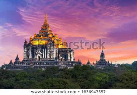 Myanmar tempel beroemd oude zoals Stockfoto © romitasromala