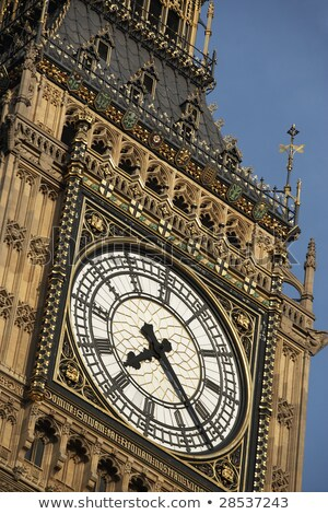 Intricate Clock Face Of Big Ben, London, England Stock photo © monkey_business